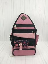 Original Tote-Ally Cool II On The Go Tote Craft Scapbooking Black & Purple