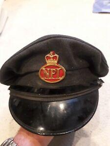 Antique Npl Hat Train Driver Style
