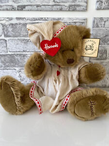 Harrods Nightie Limited Edition Teddy Bear | Very Rare | Perfect Condition |