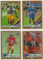 2019 Donruss Optic Football BRONZE Prizm Parallel Complete Your Set - You Pick!