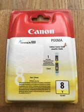 original Canon CLI-8 Y Tintenpatrone Gelb für Pixma Inkjet Drucker
