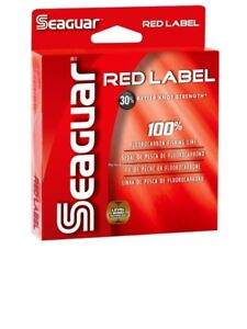 Seaguar Red Label 15 Lb 200 Yards Fluorocarbon Fishing Line Clear 15RM200