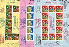 Ghana Nr.  310 - 312 B - Bogensatz  **  -  KW  132,-- €  ( BG017 )