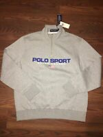 polo ralph lauren sweater xl NWT Polo Sport Sold out jacket 1/4 zip