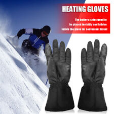 2pcs Heated Gloves Battery Powered Touchscreen Outdoor Thermal Gloves