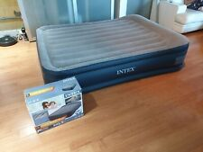 Intex Dura Beam Double Bed Airbed with Built in Electric Pump *RRP. 129.95*
