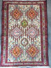 New 3x5FT Handwoven Turkish Flat Weave Soumak Kilim Needlepoint Oriental Rug