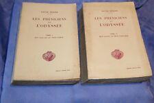 LES PHENICIENS ET L'ODYSSEE Tomes 1 et 2 par VICTOR BERARD - Lib. A. COLIN 1927
