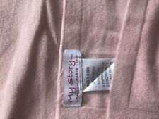 PALE PINK CASHMERE BLEND PONCHO