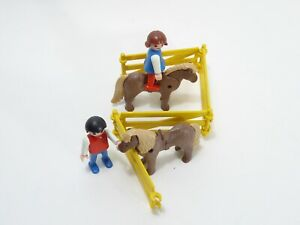 Playmobil Reiterhof - 3579 Kinder mit Ponys - neuwertig & komplett in OVP
