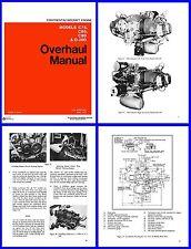 Overhaul Manual Continental C75 C85 C90 & O-200 Engines
