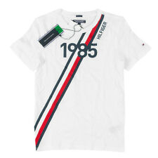 TOMMY HILFIGER Jungen T-Shirt KB0KB03910 AME Global Stripe Series Tee / 152