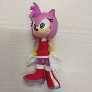 """Sonic the Hedgehog Amy Rose SEGA 2000 Action Figure 3"""" Doll Toys Posable Gift"""