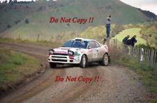 Juha Kankkunen Toyota Celica Turbo 4WD New Zealand Rally 1994 Photograph 7