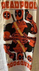 Deadpool T-Shirt XL X-Large New White