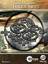 Mortician's Guild - Guild Ball Miniatures Token Set - Season 1 - Free Shipping