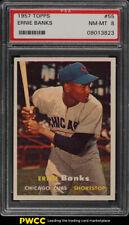 1957 Topps Ernie Banks #55 PSA 8 NM-MT (PWCC)