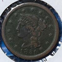 1851 1C Braided Hair Cent (51180)