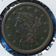 1851 1C Braided Hair Cent (51180)