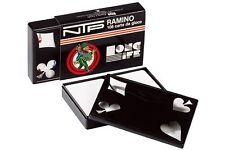 Jugando a las cartas Juego Profesional 100% De plástico RUMMY PÓKER NTP