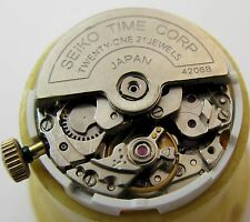 Lady Seiko 5 4206 B automatic watch 21 jewels movement for part ... T526 0224 R2