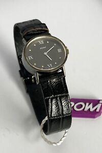 Vintage Damen Armbanduhr Marke ROWI, Swiss made | Sterlingsilber 925
