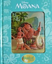 New Disney Moana Magical Story Reading Book 3D Cover Chidlren Ages 2-10 years