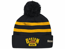 Official NHL 2016 Winter Classic Boston Bruins Goalie Knit Beanie Hat NWT