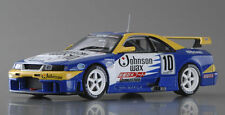 EBBRO 43933 1:43 Nissan Johnson Skyline R33 JGTC 1995 Blue / Yellow