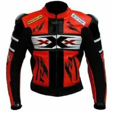 RED YAMAHA R1 XXX  MOTORBIKE RACING LEATHER JACKET CE APPROVED