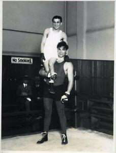 Jack Dempsey World Heavyweight Boxing Champion Fidel LaBarba Original Photograph