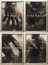 Call of Duty Advance Warfare RARE PS4 XBOX ONE 42cm x 60cm Promo Poster Set x4