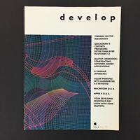 Vintage Apple Computer Programming Magazine DEVELOP Summer 1991 Issue 6