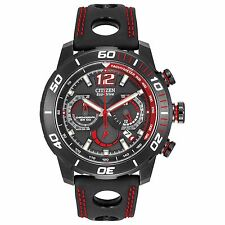 Citizen Eco-Drive Men's CA4085-08E Primo Stingray Chronograph Red 45mm Watch