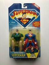 Superman Animated Series Quick Change Superman Figure Kenner 1996