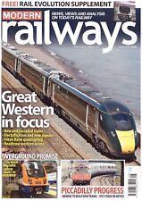 Modern Railways Aug 2018 Network Rail / British Rail / British Railways BR NR