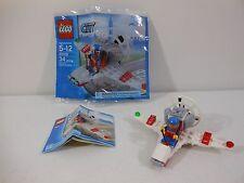 LEGO #30012 City Airport MICROLIGHT & MINIFIG Airplane & Minifigure Polybag Set