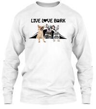 Llb Australian Cattle Dog - Live Love Bark Gildan Long Sleeve Tee T-Shirt