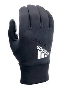 NWT Men's adidas Shield 3.0 Texting Gloves - Black - L/XL