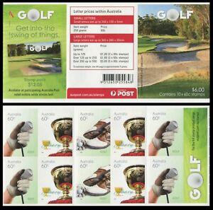 2011 Golf $6.00 Booklet - Unfolded