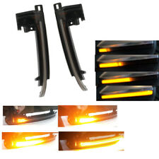L&R Side Mirror Flashing Light LED Sequential Lamp For AUDI Q3 A6 C6 facelift A8