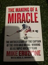 Mike Eruzione signed book USA Hockey Miracle on Ice