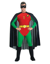 "Robin Teen Titans Mens Classic Costume, Med,CHEST 38-40"",WAIST 30-34"",INSEAM 33"""