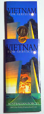 2003 Australia - Vietnam for Service $1 Coin - Uncirculated in Pack of Issue