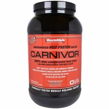 MUSCLEMEDS CARNIVOR BIOENGINEERED BEEF PROTEIN ISOLATE DAILY MUSCLE HEALTHY