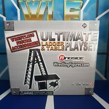 Table, Ladder & Chairs - New Boxed Accessories for WWE Mattel Wrestling Figure