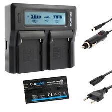 Bateria para Sony np-f970 | 6600mah | + dual cargador Charger np-f970 | 60386 | 90302