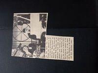 ephemera 65-4 1960 article the Ray davis trio southern TV Margate