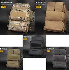 1000D Nylon Tactical Zipper Panel Pouch Bag Back Pack for JPC2.0 Tactical Vest