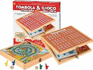 Tombola Italiana & Gioco dell'oca - RSTA 8692 - 5+ anni